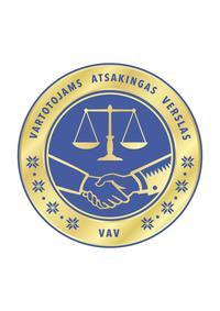 """4. Prekybos ir paslaugų įmonių sertifikavimo programos - """"VARTOTOJAMS ATSAKINGAS VERSLAS"""" (VAV) taisyklės"""
